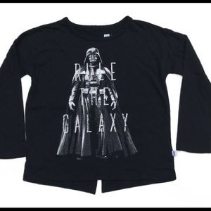 GAP girls long sleeve Star Wars collection tee